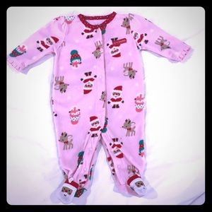 Child of Mine by carters 3-6 mo Christmas onesie